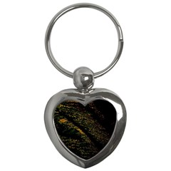 Abstract Background Key Chains (Heart)
