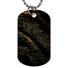 Abstract Background Dog Tag (two Sides)