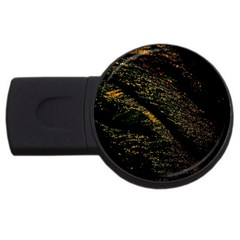Abstract Background USB Flash Drive Round (1 GB)