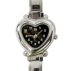Abstract Background Heart Italian Charm Watch