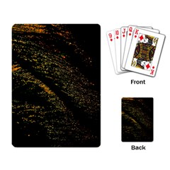 Abstract Background Playing Card