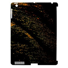 Abstract Background Apple iPad 3/4 Hardshell Case (Compatible with Smart Cover)