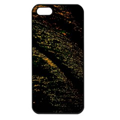 Abstract Background Apple iPhone 5 Seamless Case (Black)