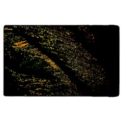 Abstract Background Apple iPad 3/4 Flip Case