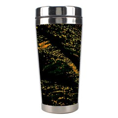 Abstract Background Stainless Steel Travel Tumblers