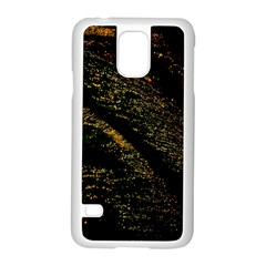 Abstract Background Samsung Galaxy S5 Case (White)