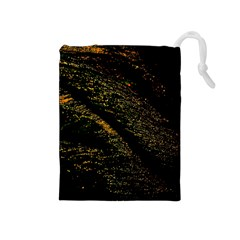 Abstract Background Drawstring Pouches (Medium)