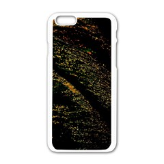 Abstract Background Apple iPhone 6/6S White Enamel Case