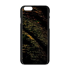 Abstract Background Apple Iphone 6/6s Black Enamel Case