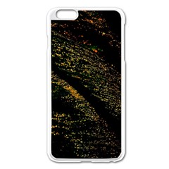 Abstract Background Apple iPhone 6 Plus/6S Plus Enamel White Case
