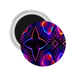 Rainbow Abstract Background Pattern 2 25  Magnets