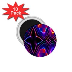 Rainbow Abstract Background Pattern 1 75  Magnets (10 Pack)