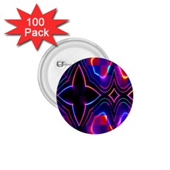 Rainbow Abstract Background Pattern 1 75  Buttons (100 Pack)