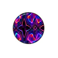 Rainbow Abstract Background Pattern Hat Clip Ball Marker (4 pack)