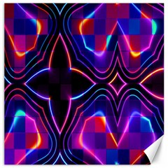 Rainbow Abstract Background Pattern Canvas 12  X 12