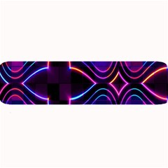 Rainbow Abstract Background Pattern Large Bar Mats