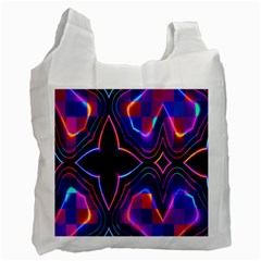 Rainbow Abstract Background Pattern Recycle Bag (one Side)