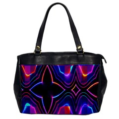 Rainbow Abstract Background Pattern Office Handbags