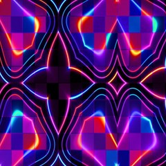 Rainbow Abstract Background Pattern Magic Photo Cubes