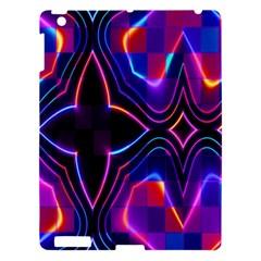 Rainbow Abstract Background Pattern Apple Ipad 3/4 Hardshell Case
