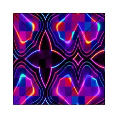 Rainbow Abstract Background Pattern Acrylic Tangram Puzzle (6  x 6 )