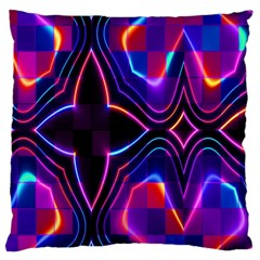 Rainbow Abstract Background Pattern Large Cushion Case (Two Sides)