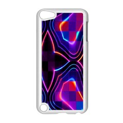 Rainbow Abstract Background Pattern Apple iPod Touch 5 Case (White)