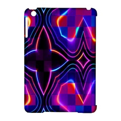 Rainbow Abstract Background Pattern Apple Ipad Mini Hardshell Case (compatible With Smart Cover)