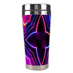 Rainbow Abstract Background Pattern Stainless Steel Travel Tumblers