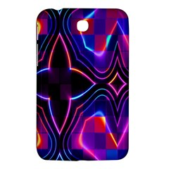 Rainbow Abstract Background Pattern Samsung Galaxy Tab 3 (7 ) P3200 Hardshell Case