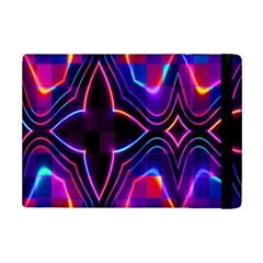 Rainbow Abstract Background Pattern iPad Mini 2 Flip Cases