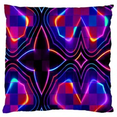 Rainbow Abstract Background Pattern Standard Flano Cushion Case (One Side)