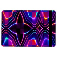 Rainbow Abstract Background Pattern iPad Air 2 Flip