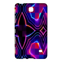 Rainbow Abstract Background Pattern Samsung Galaxy Tab 4 (7 ) Hardshell Case