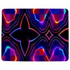 Rainbow Abstract Background Pattern Jigsaw Puzzle Photo Stand (rectangular)