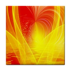 Realm Of Dreams Light Effect Abstract Background Tile Coasters