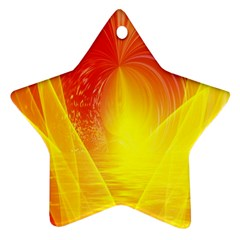Realm Of Dreams Light Effect Abstract Background Ornament (star)