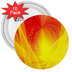 Realm Of Dreams Light Effect Abstract Background 3  Buttons (10 Pack)