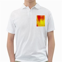 Realm Of Dreams Light Effect Abstract Background Golf Shirts
