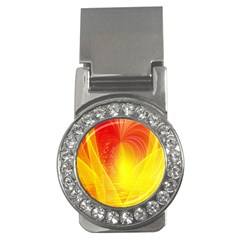 Realm Of Dreams Light Effect Abstract Background Money Clips (cz)