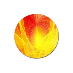 Realm Of Dreams Light Effect Abstract Background Magnet 3  (Round)