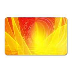 Realm Of Dreams Light Effect Abstract Background Magnet (Rectangular)
