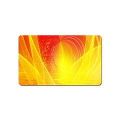 Realm Of Dreams Light Effect Abstract Background Magnet (Name Card)