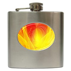 Realm Of Dreams Light Effect Abstract Background Hip Flask (6 oz)