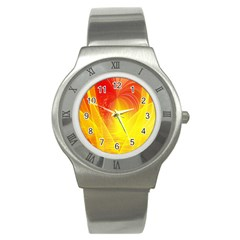 Realm Of Dreams Light Effect Abstract Background Stainless Steel Watch