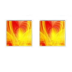 Realm Of Dreams Light Effect Abstract Background Cufflinks (Square)