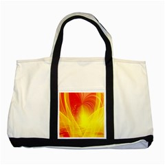 Realm Of Dreams Light Effect Abstract Background Two Tone Tote Bag