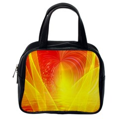 Realm Of Dreams Light Effect Abstract Background Classic Handbags (One Side)