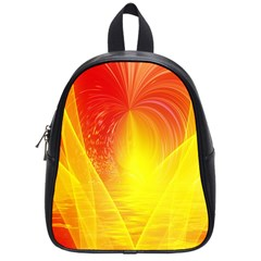 Realm Of Dreams Light Effect Abstract Background School Bags (small)