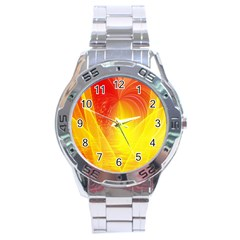 Realm Of Dreams Light Effect Abstract Background Stainless Steel Analogue Watch